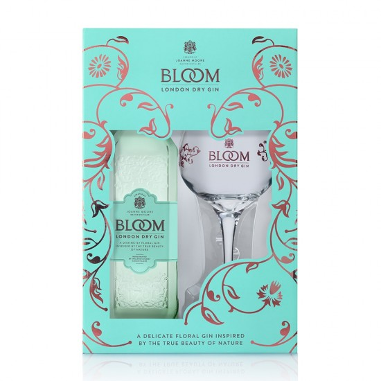 Bloom Premium London Dry Gin 0,7l - Darilno pakiranje-Žgane pijače