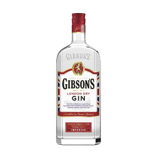 Gibson's dry gin 1,0l