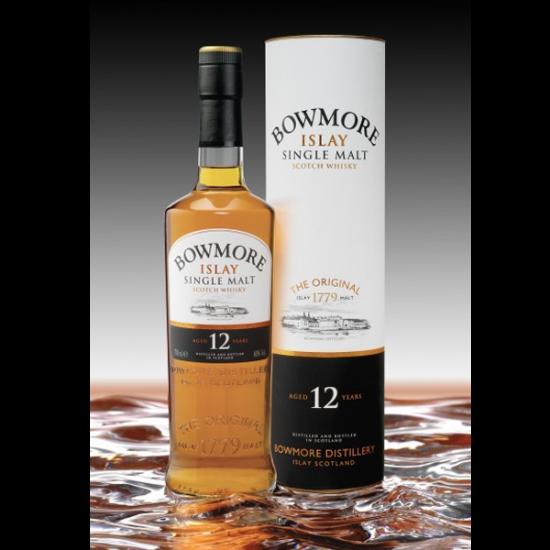 Bowmore, 12YO, Single Malt, 0,7l, 40% vol alkohola, Islay, Škotska-Whisky ŠKOTSKI MALT