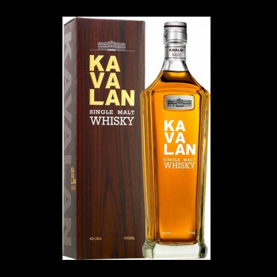 KAVALAN CLASSIC SINGLE MALT WHISKY, Taiwan, 0,7l, 40% vol alkohola-Whisky TAIWANSKI