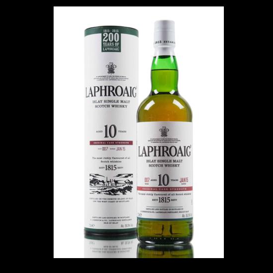 LAPHROAIG 10 YO, Islay, Škotska, 40% vol alkohola-Whisky ŠKOTSKI MALT