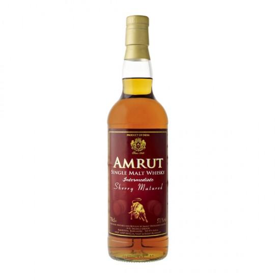 Amrut Sherry Matured Intermediate Single Malt, 0,7l – INDIJA-Whisky INDIJSKI