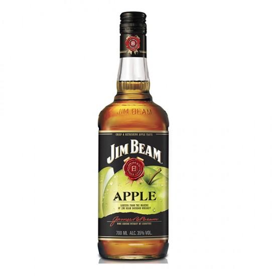 JIM BEAM APPLE, Bourbon whisky z infuzijo zelenega jabolka, Kentucky, 35% vol alkohola-Whisky BOURBON