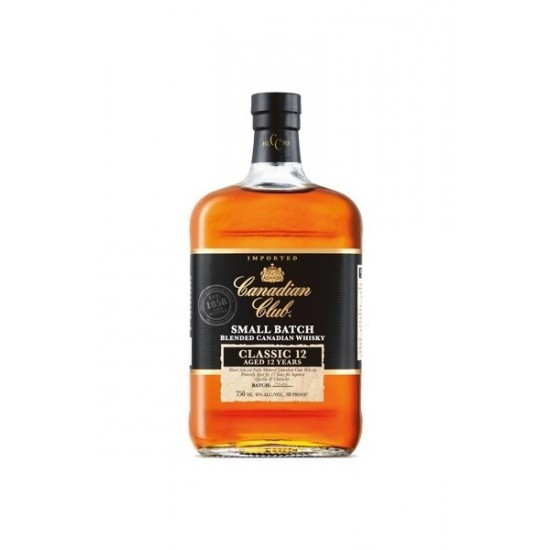 Canadian Club CLASSIC 12YO Small Batch, 0,7l, 40% vol alkohola-Whisky KANADSKI