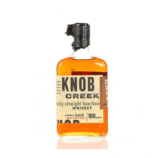 KNOB CREEK, Bourbon whisky, Kentucky, 50% vol alkohola-Whisky BOURBON
