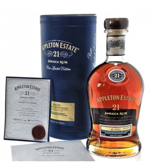 APPLETON ESTATE RARE BLEND 21  YEAR OLD-Rum